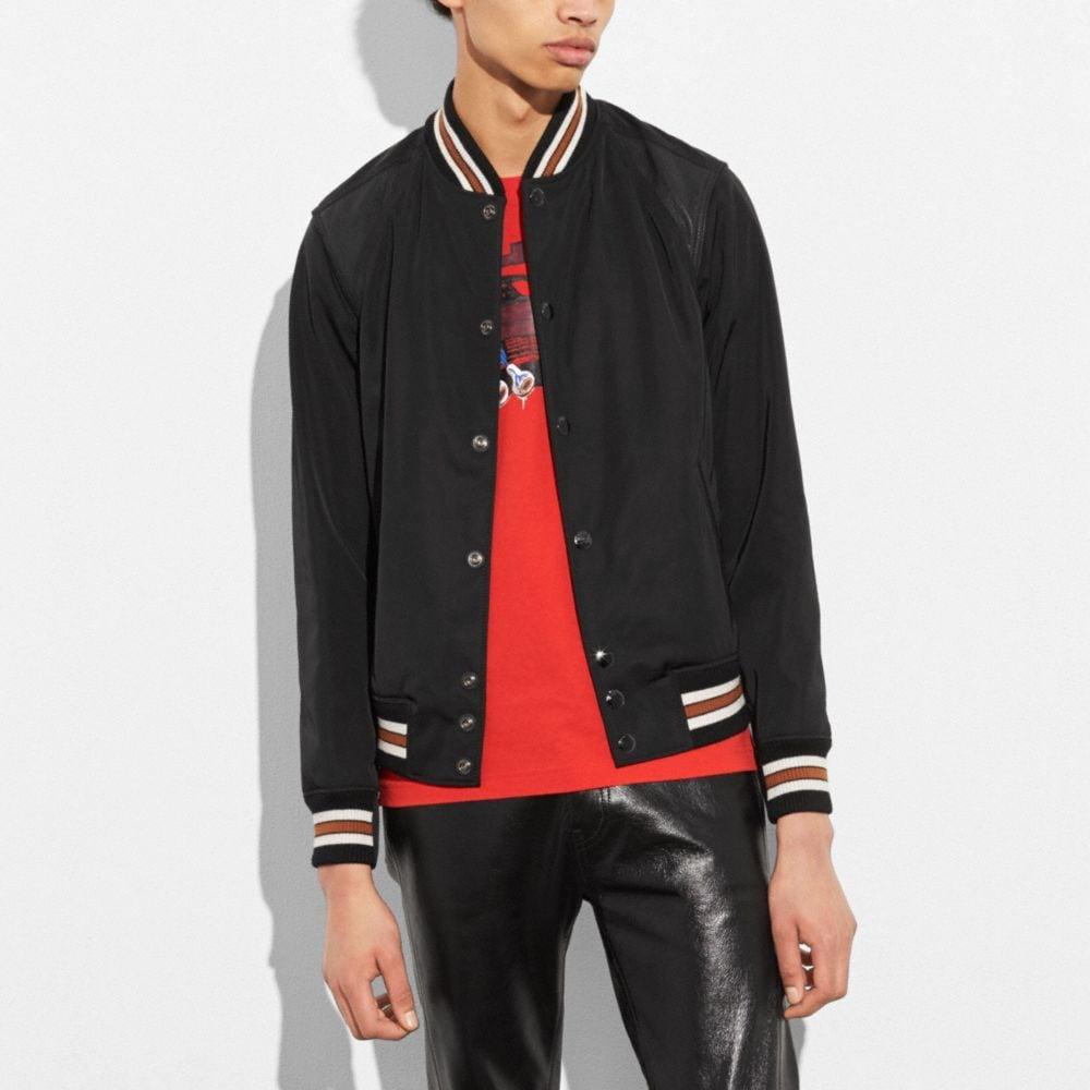 LIGHTWEIGHT VARSITY JACKET
