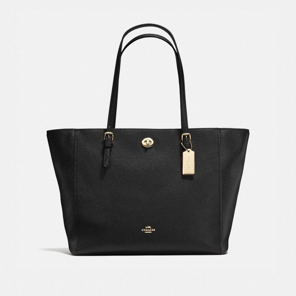 Tote Bag, navy, Leather, 2017, one size Coach