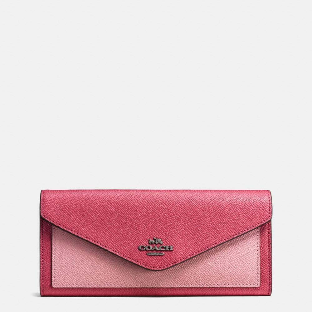 Colorblock Soft Wallet
