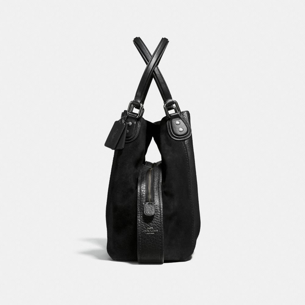Edie Shoulder Bag 42 in Mixed Leathers - Visualizzazione alternativa A1