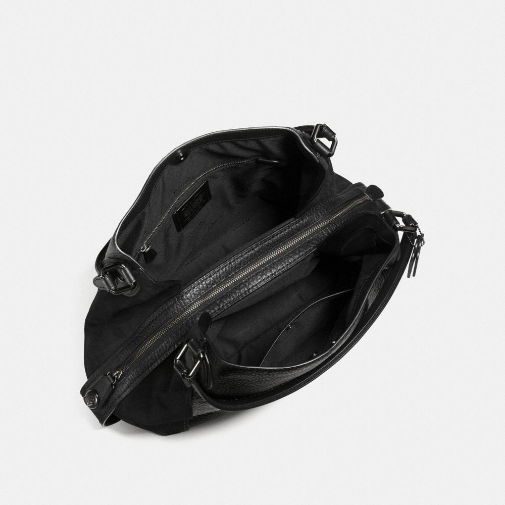 EDIE SHOULDER BAG 42 IN MIXED LEATHERS - Visualizzazione alternativa