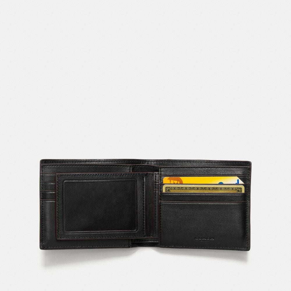 Coach 3-In-1 Wallet in Sport Calf Leather With Western Rivets Alternate View 2