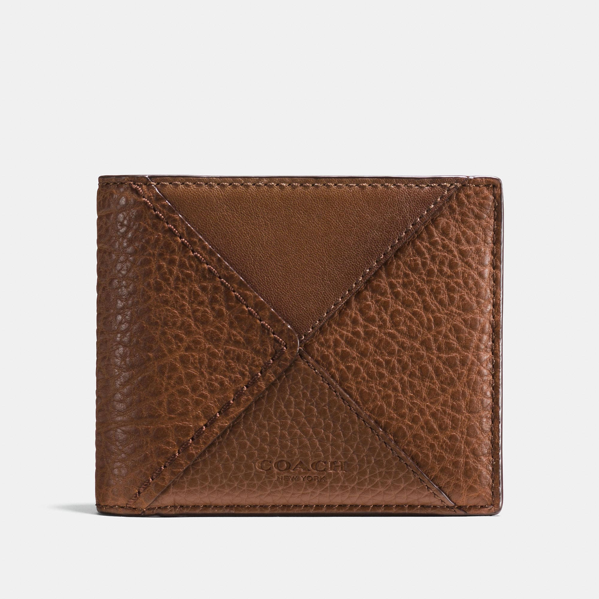Coach 3-in-1 Wallet In Canyon Quilt Buffalo-embossed Leather