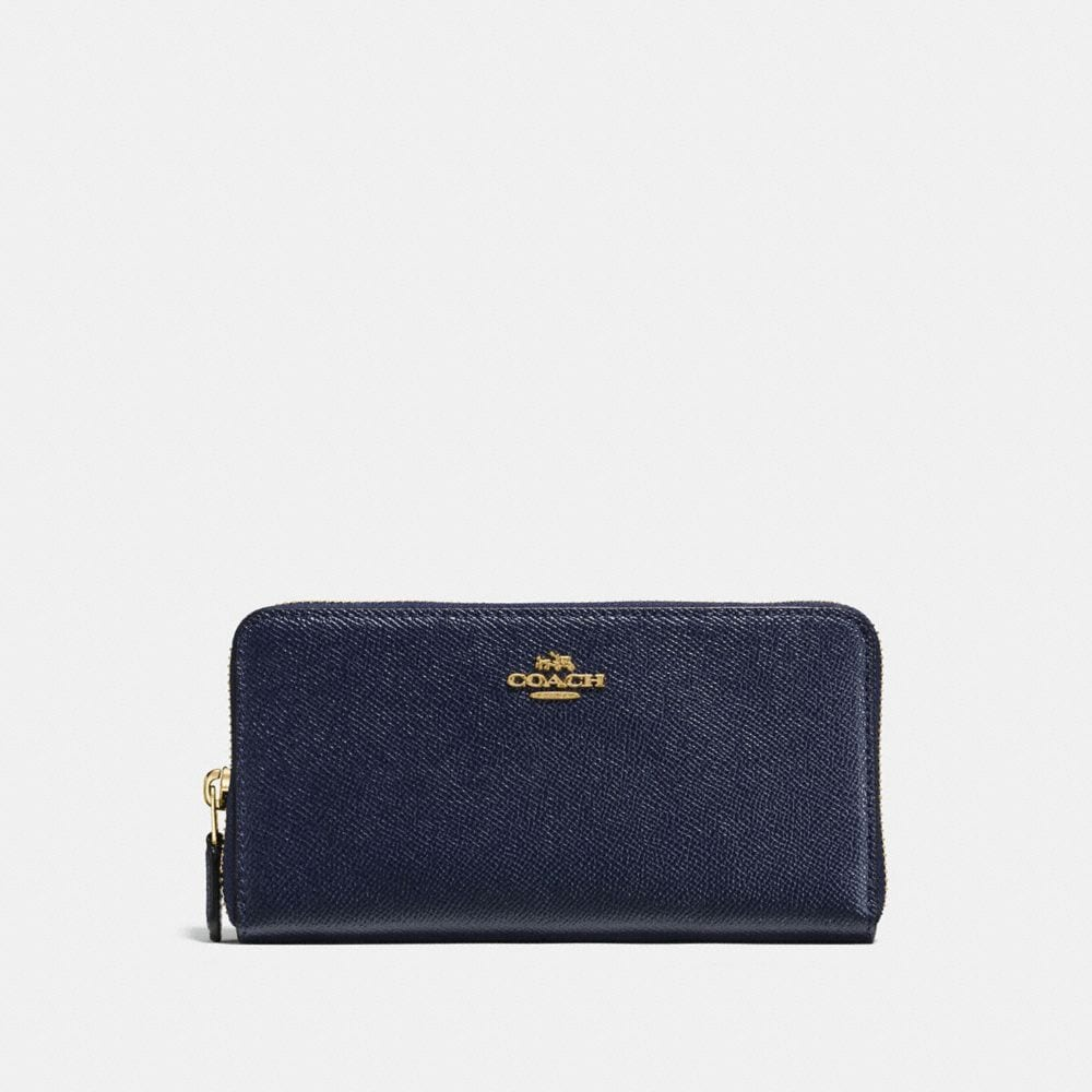 Coach Portefeuille Accordion Zip