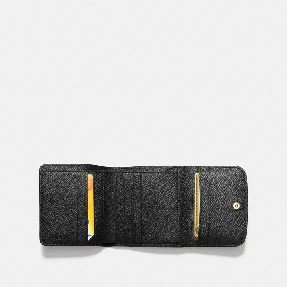 Small Wallet in Crossgrain Leather - Alternate View A1