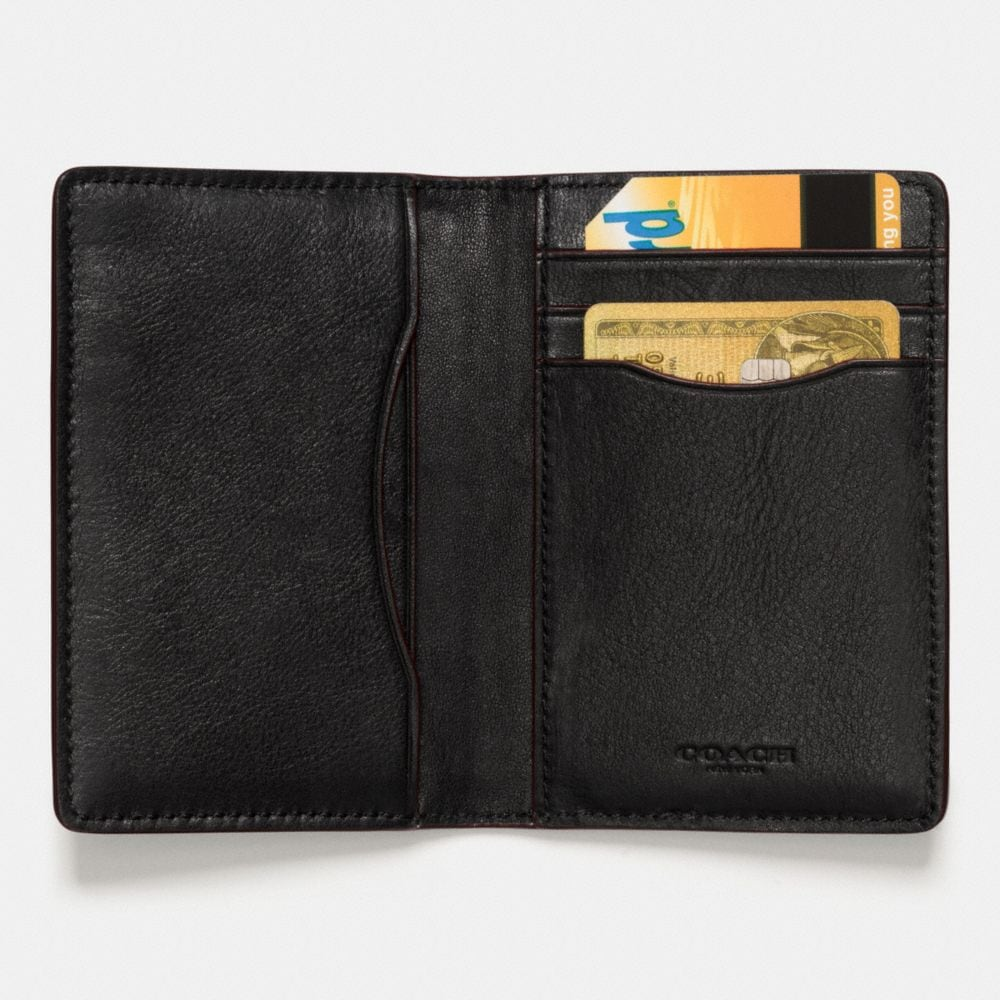 Coach Western Rivets Card Wallet in Sport Calf Leather Alternate View 1