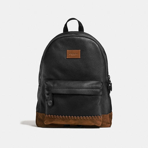 Rip and Repair Campus Backpack in Polished Pebble Leather