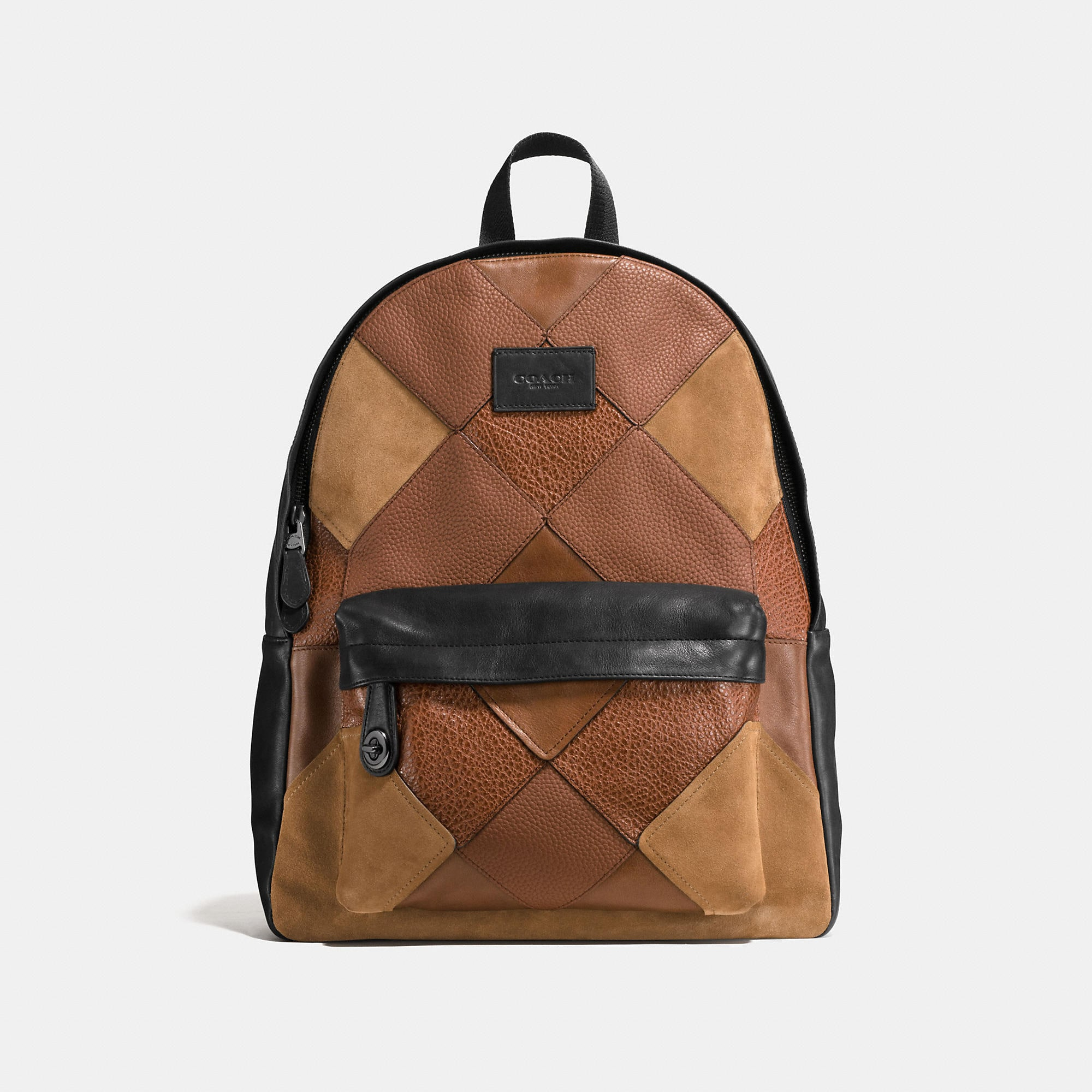Coach Campus Backpack In Mixed Canyon Quilt Leather