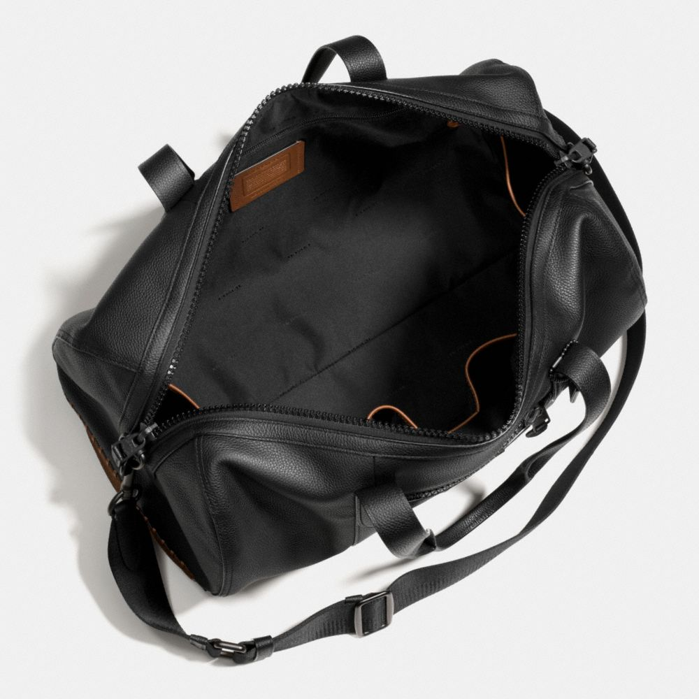 Rip and Repair Metropolitan Soft Gym Bag in Polished Pebble Leather - Alternate View A2