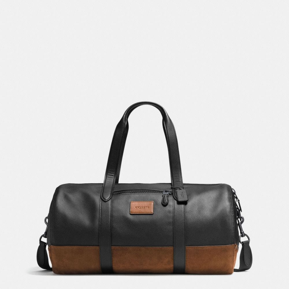 RIP AND REPAIR METROPOLITAN SOFT GYM BAG IN POLISHED PEBBLE LEATHER