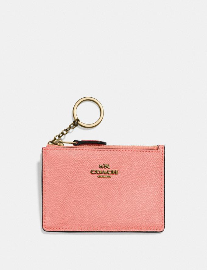 Coach Mini Skinny Id Case B4/Candy Pink DEFAULT_CATEGORY
