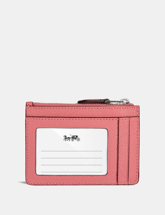 Coach Portadocumentos De Identidad Mini Skinny Pink Nuevo Novedades para mujer Pequeños artículos de piel Vistas alternativas 1