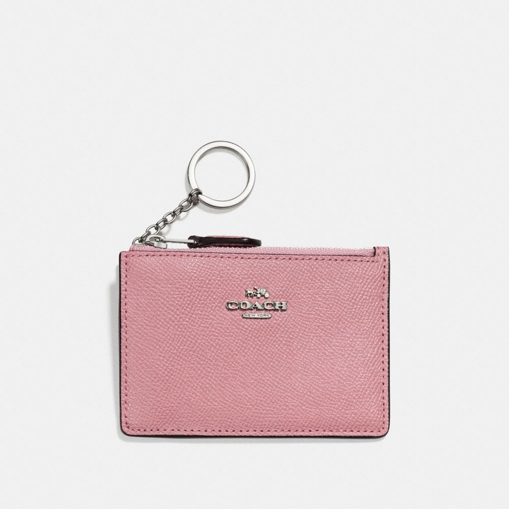 Mini Skinny Id Case in Crossgrain Leather