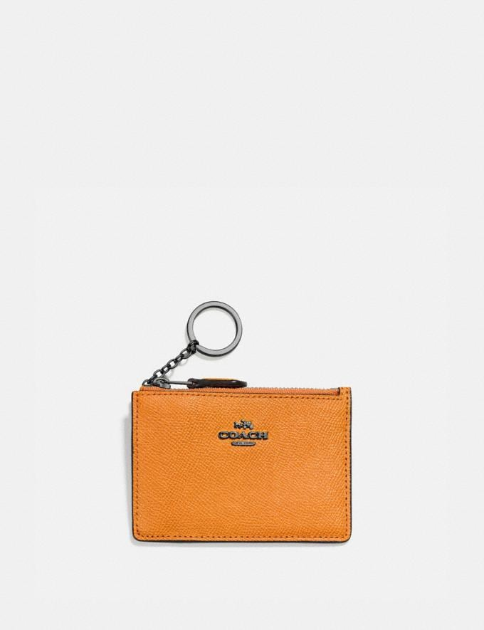 Coach Mini Skinny Id Case V5/Pollen New Women's New Arrivals