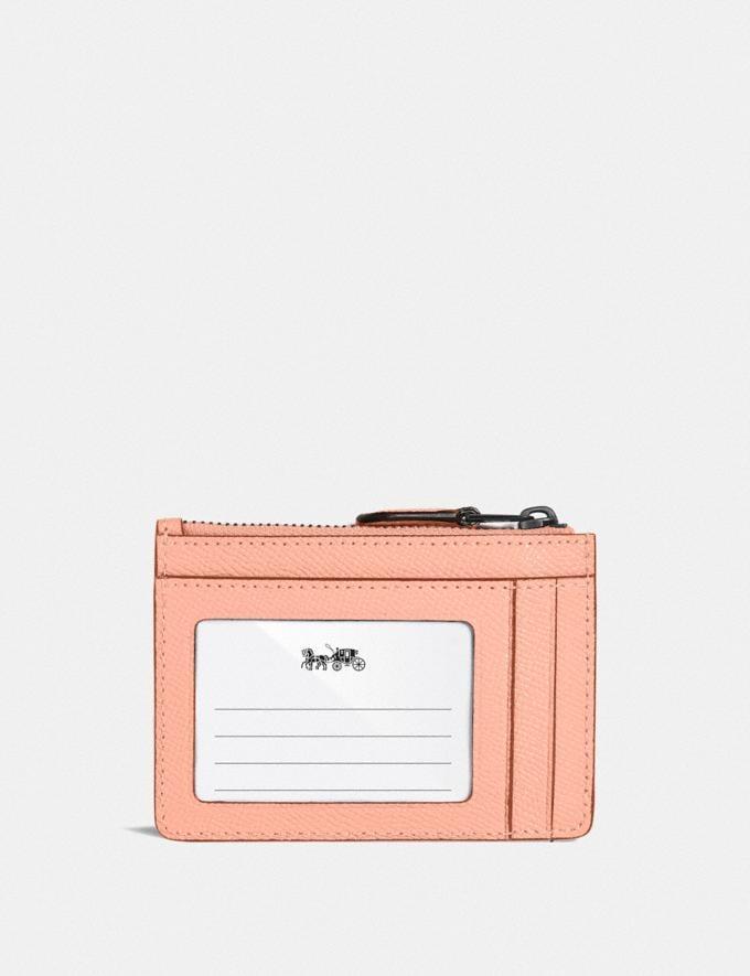 Coach Mini Skinny Ausweisetui V5/Verblasstes Rouge Neu Neuheiten für Damen Portemonnaies Alternative Ansicht 1