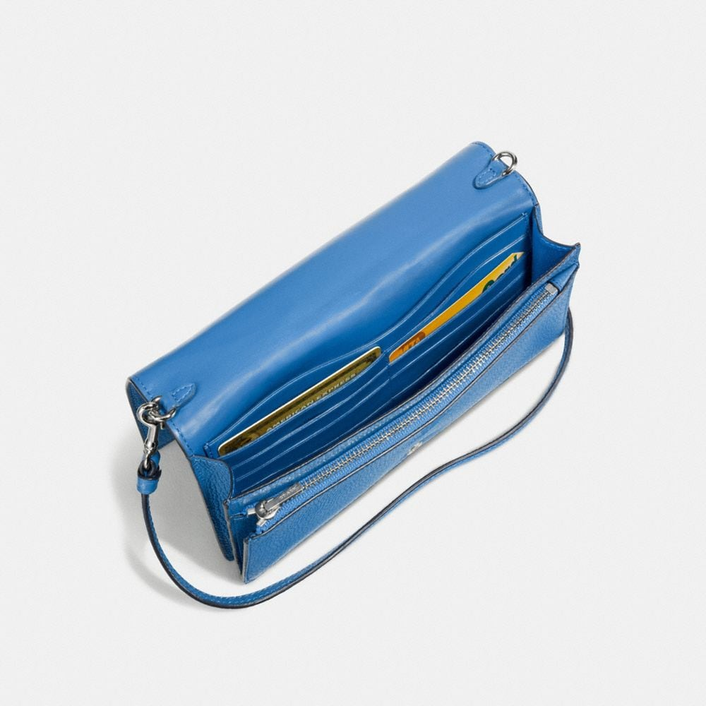Coach Foldover Crossbody With Ombre Rivets Alternate View 2