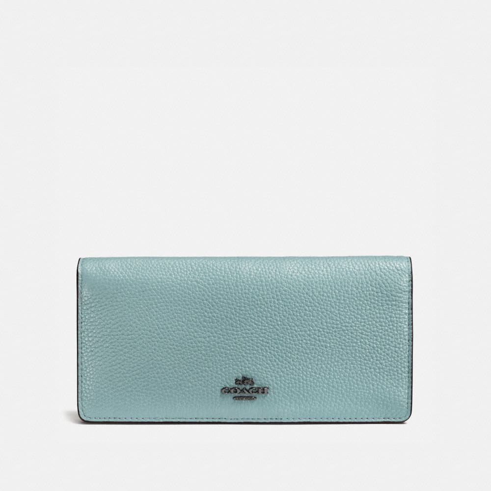 Coach Wallets SLIM WALLET IN COLORBLOCK LEATHER