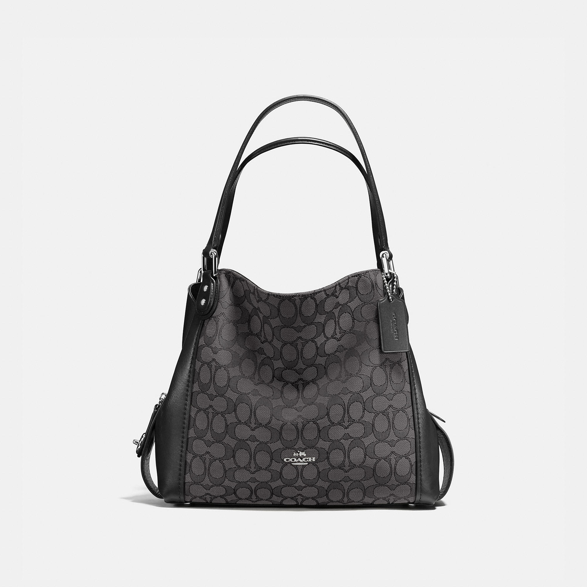 Coach Edie Shoulder Bag 31 In Signature Jacquard