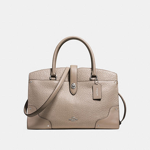 Mercer Satchel in Mixed Leathers