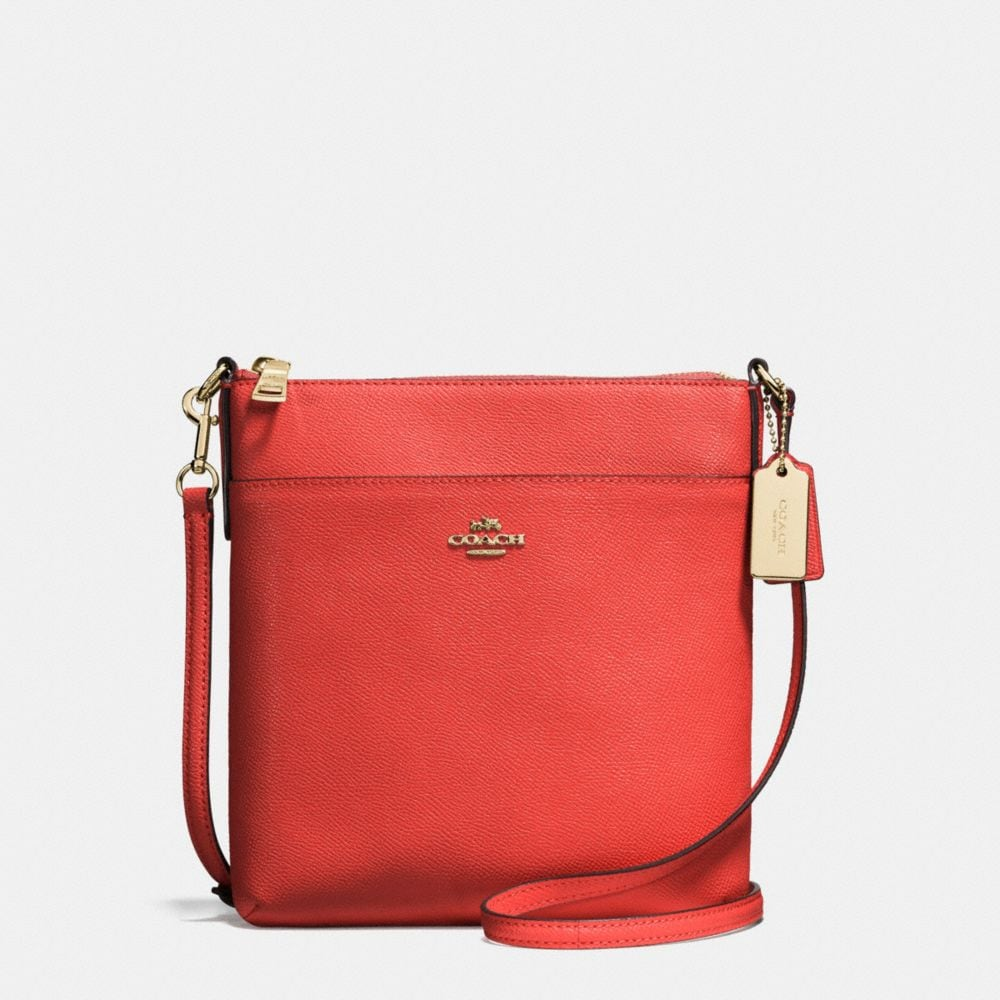 COURIER CROSSBODY IN CROSSGRAIN LEATHER