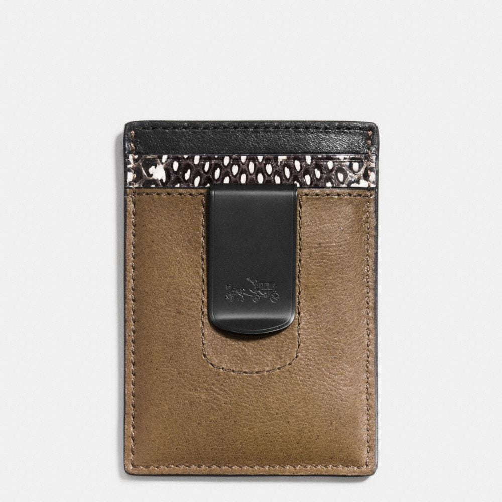 Coach 3-In-1 Wallet in Colorblock Mixed Leathers Alternate View 1