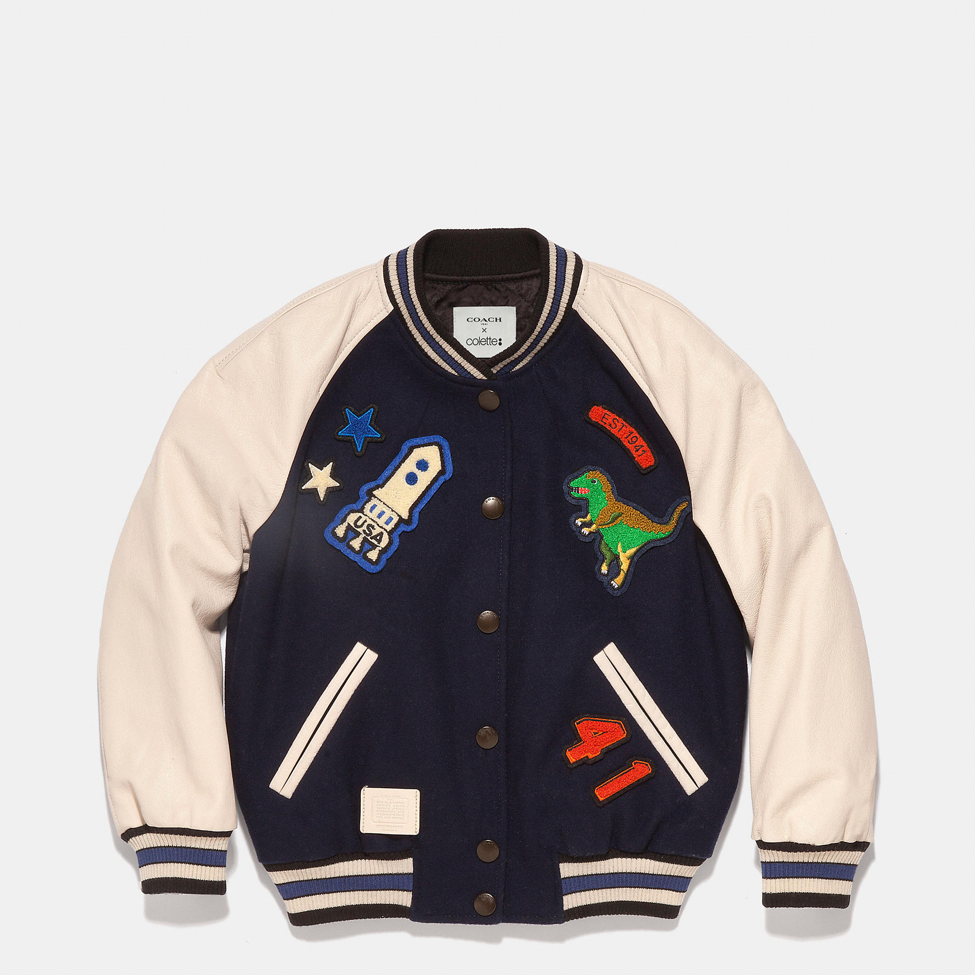 Coach Kids Varsity Jacket