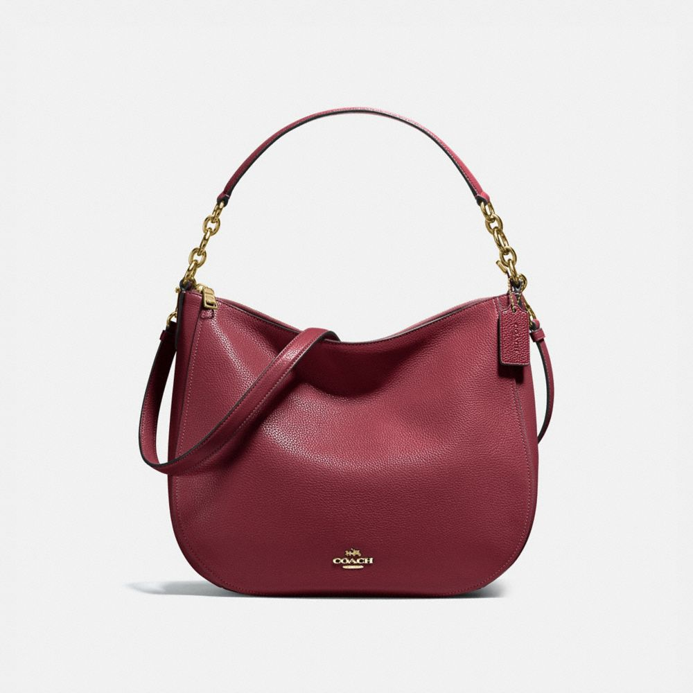COACH Chelsea Hobo 32 in Pebble Leather