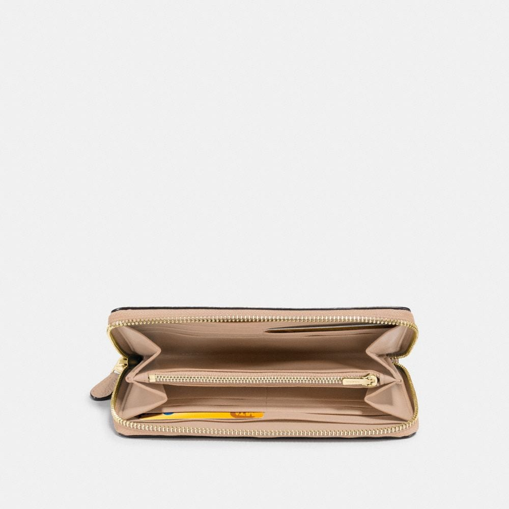Coach Accordion Zip Wallet Alternate View 1