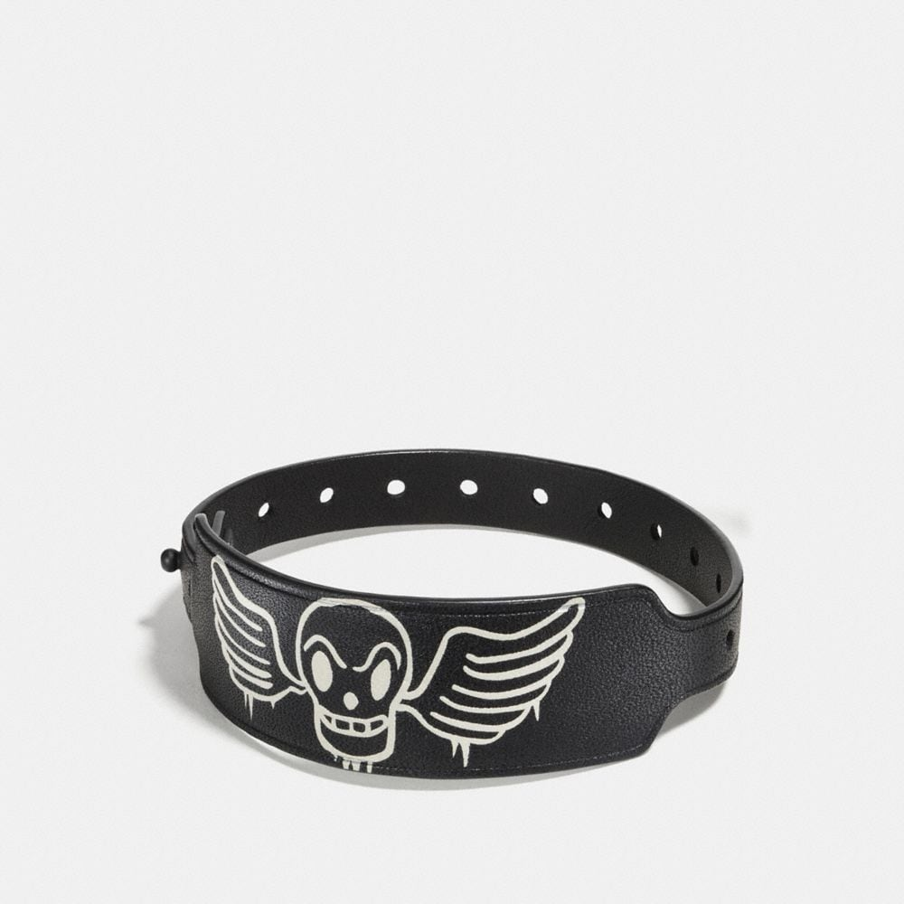 skull/wings black/chalk