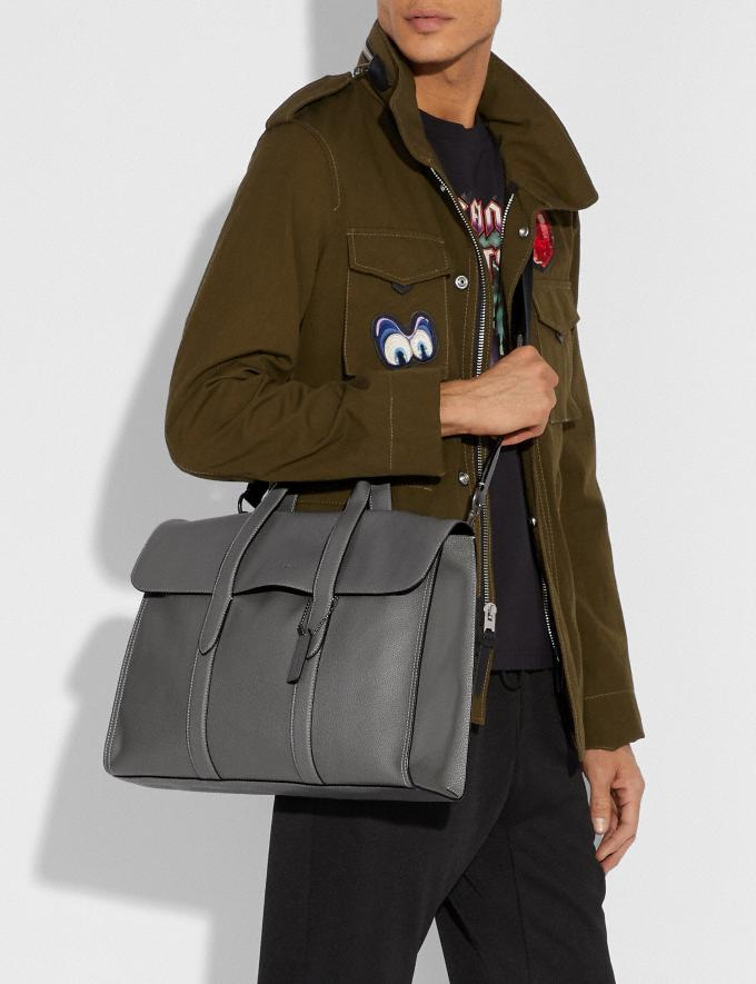 Coach Metropolitan Portfolio Ji/Deep Sky Cyber Monday For Him Cyber Monday Sale Alternate View 5