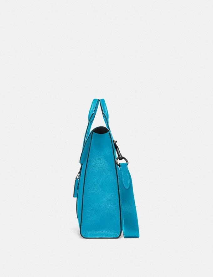 Coach Metropolitan Portfolio Qb/Parrot Blue New Men's New Arrivals Bags Alternate View 1