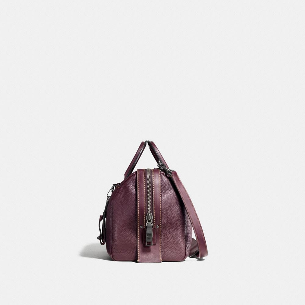 Rogue Satchel 36 in Glovetanned Pebble Leather - Autres affichages A1