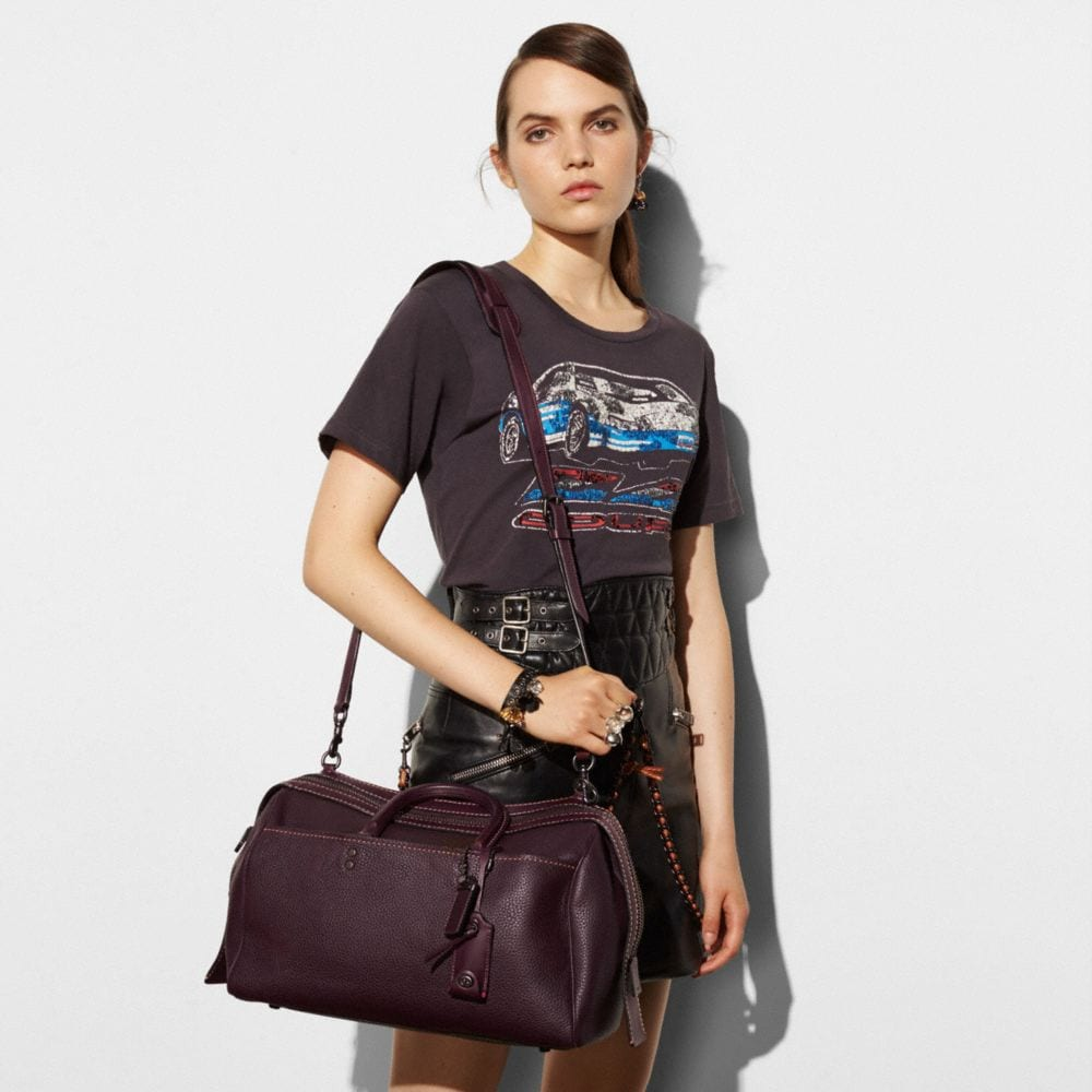 Rogue Satchel 36 in Glovetanned Pebble Leather - Autres affichages A3