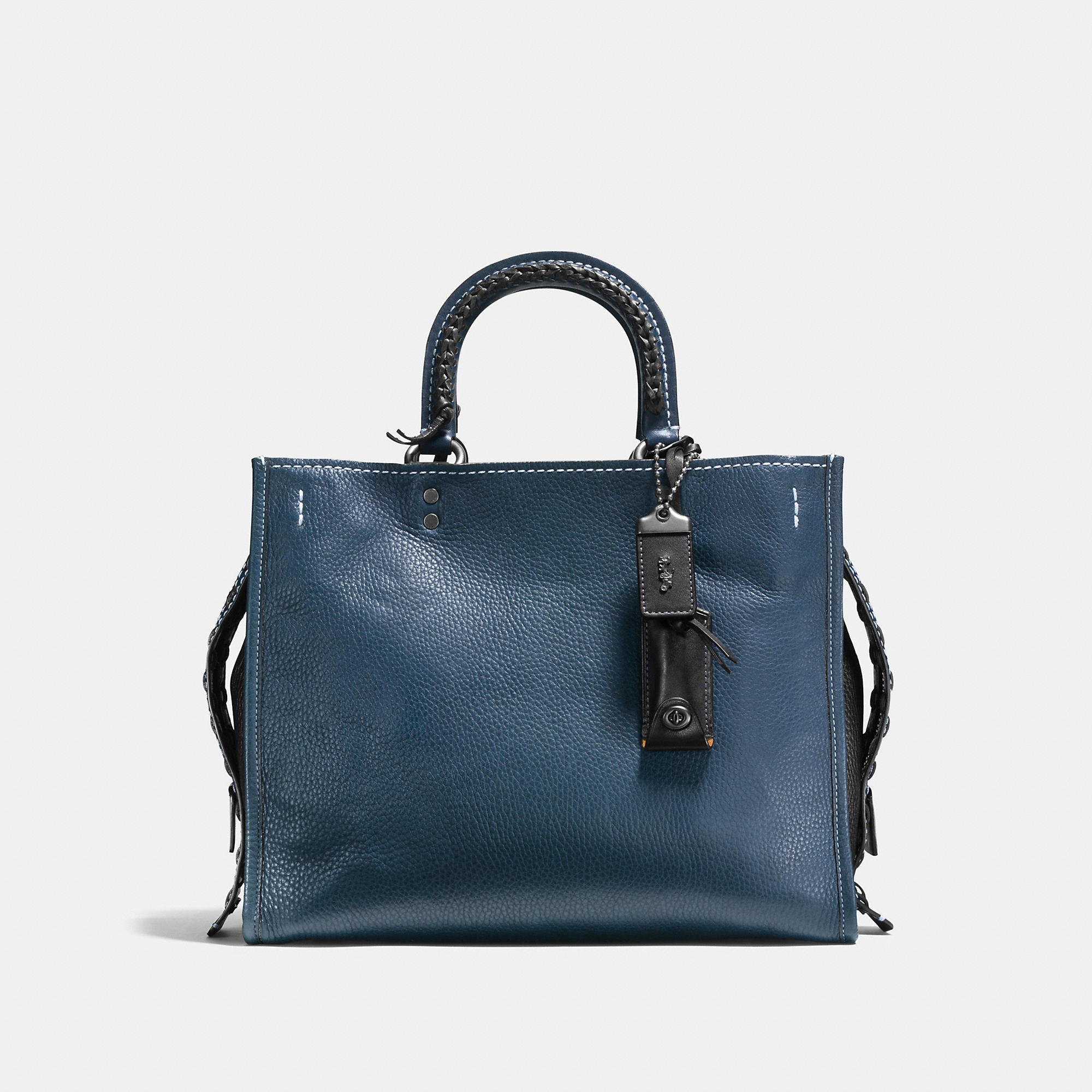 Coach Rogue In Glovetanned Leather With Western Whiplash Detail
