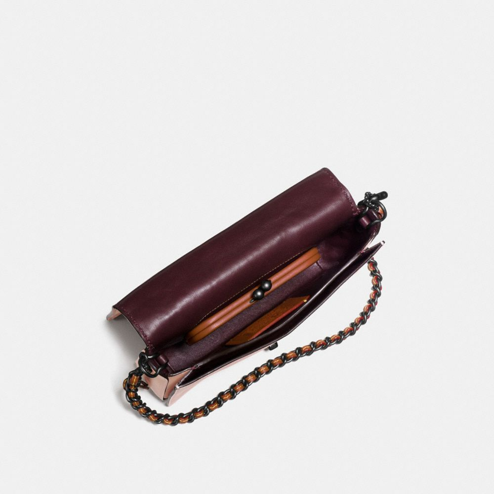 Dinky Crossbody in Glovetanned Leather With Meadowlark Embellishment - Alternate View A2
