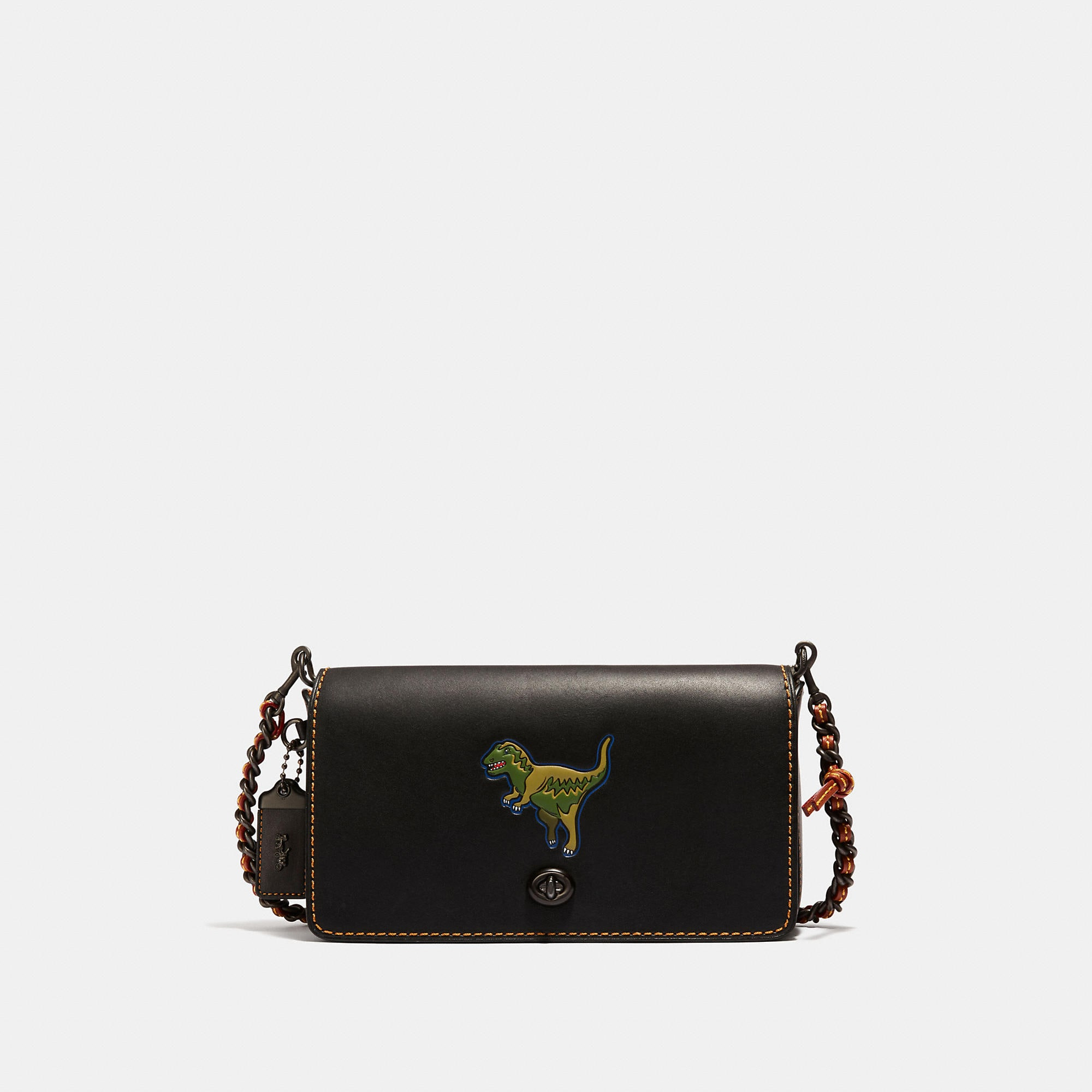 Coach Rexy Dinky Crossbody In Glovetanned Leather
