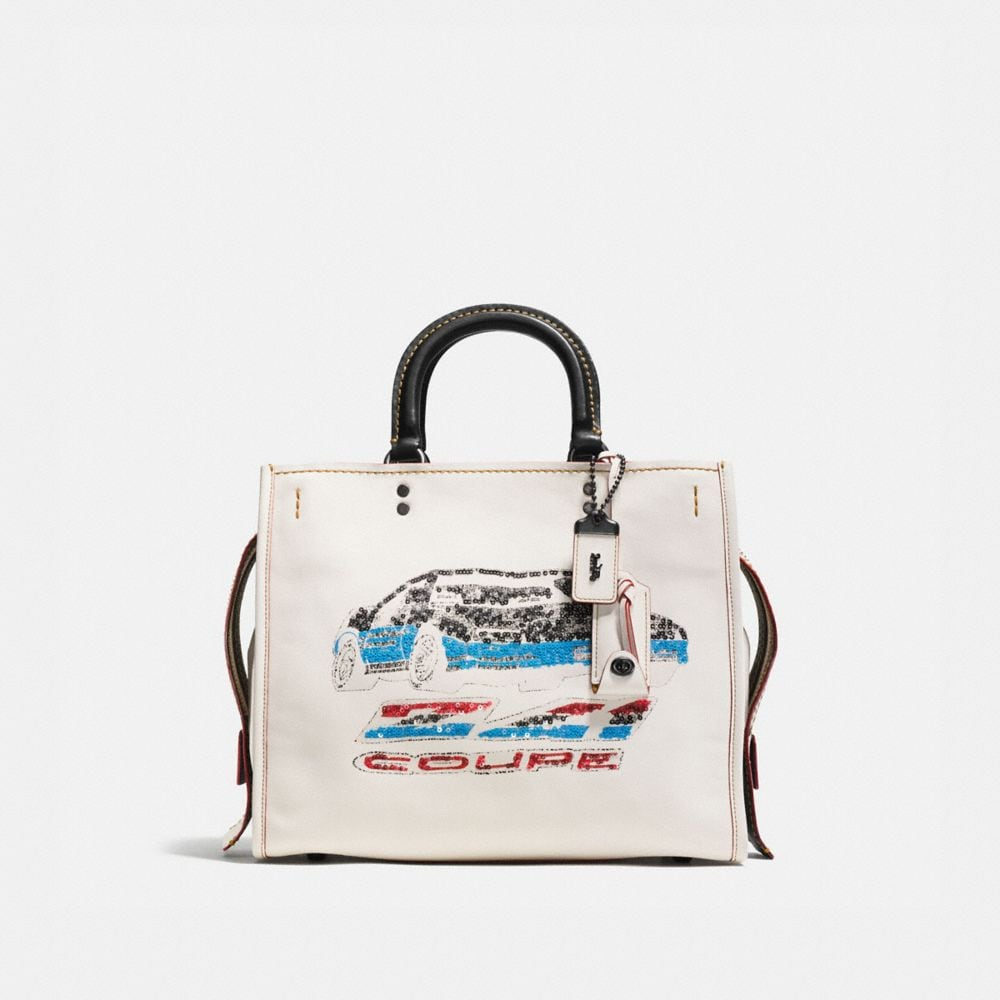 ROGUE IN GLOVETANNED LEATHER WITH CAR EMBELLISHMENT