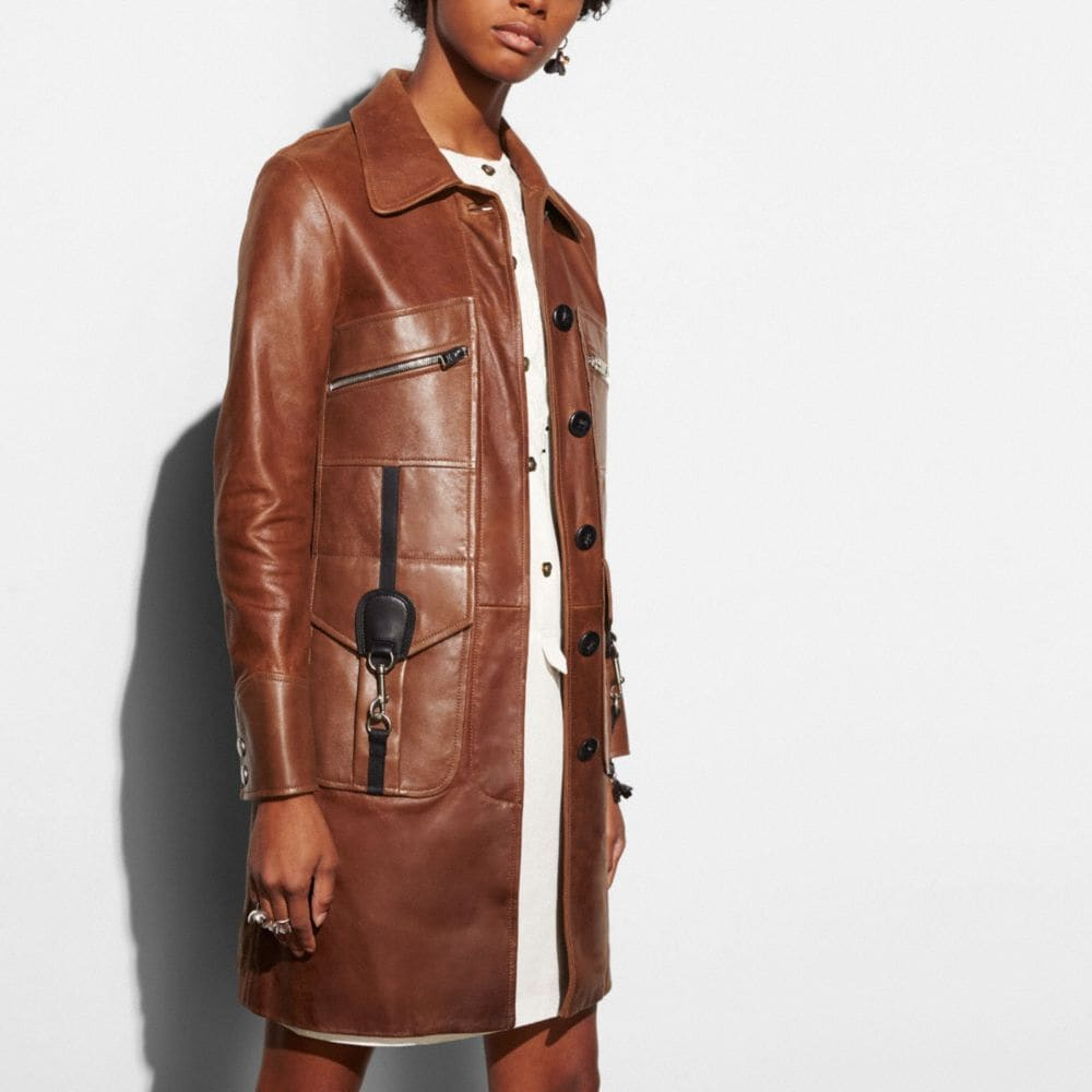 Coach Four Pocket Coat