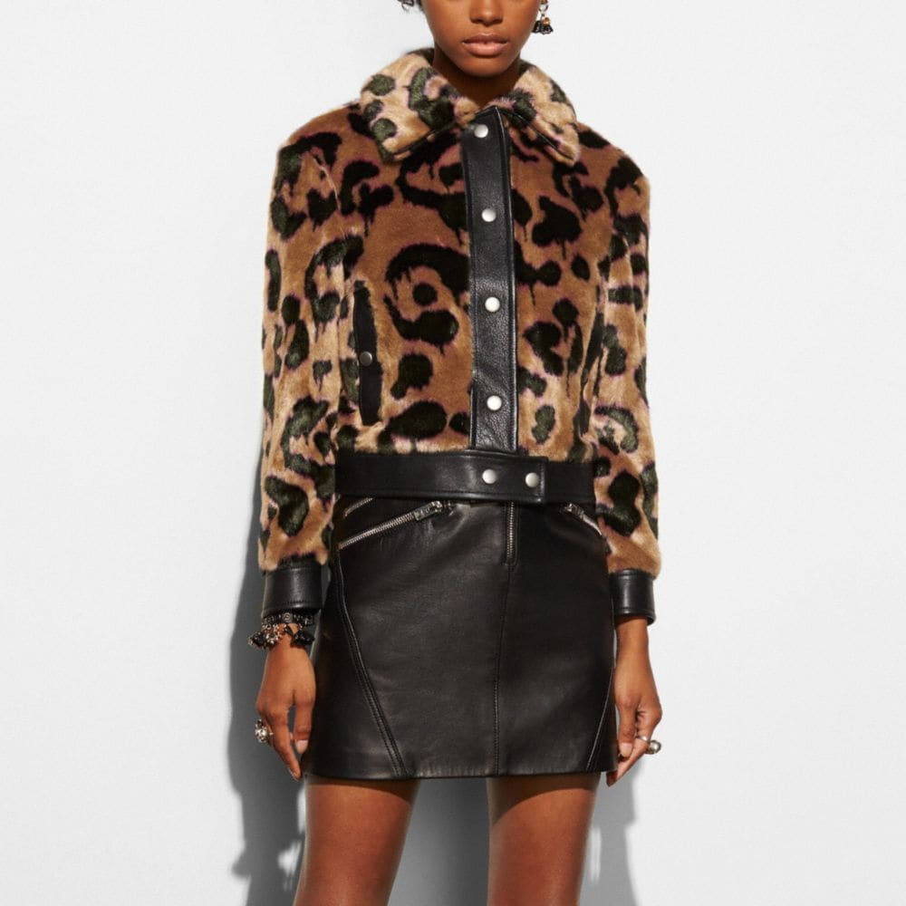 WILD BEAST FAUX FUR JACKET