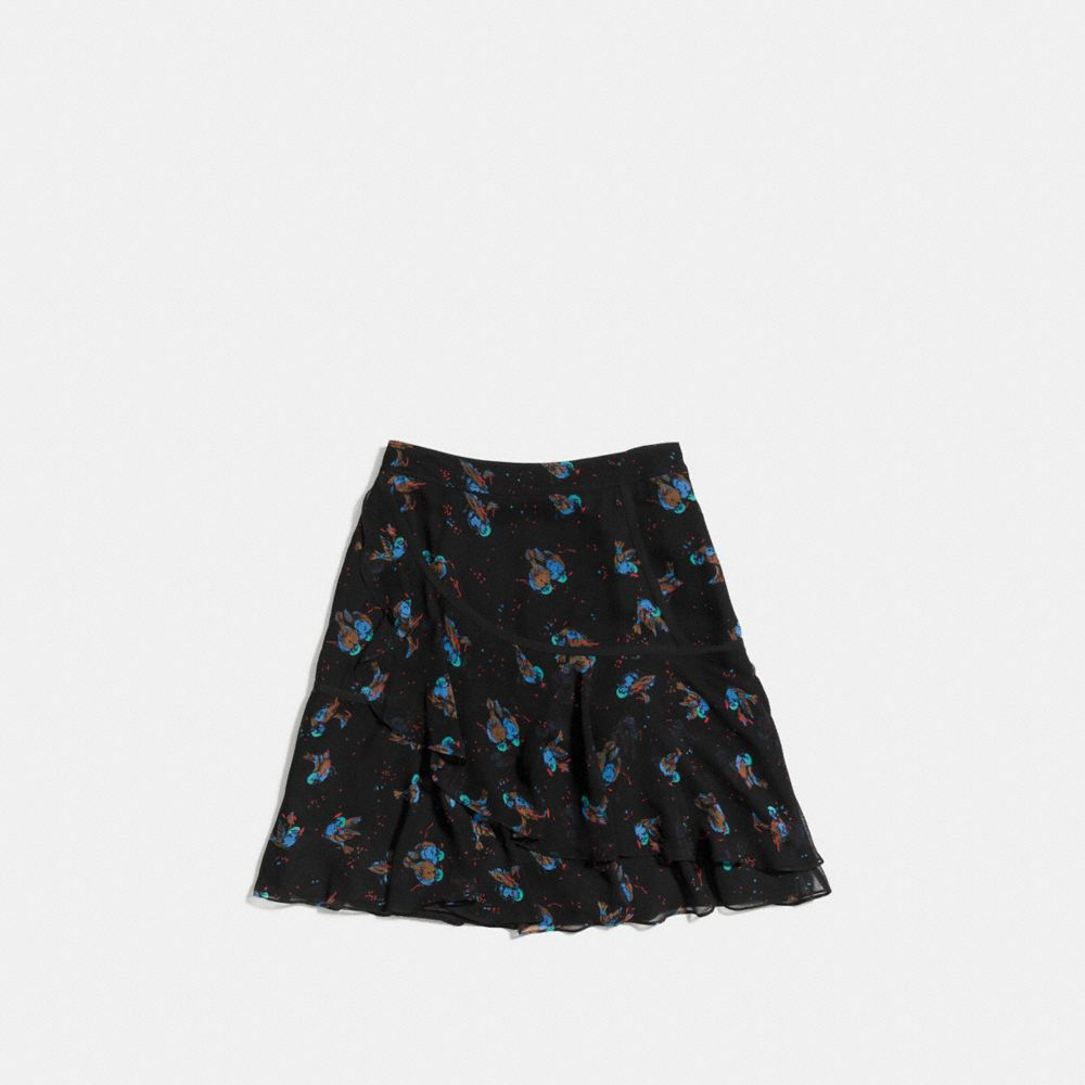 Flounced Skirt - Alternate View A1