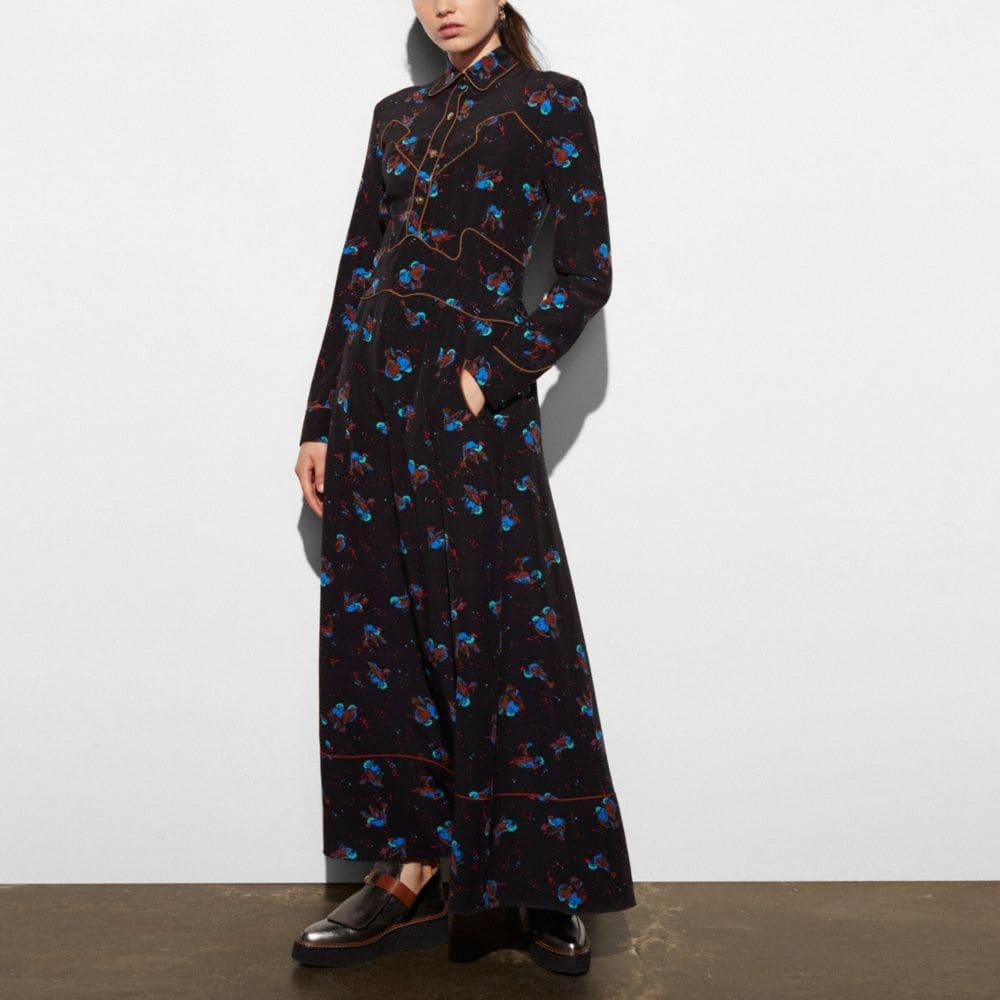 LONG WESTERN DRESS
