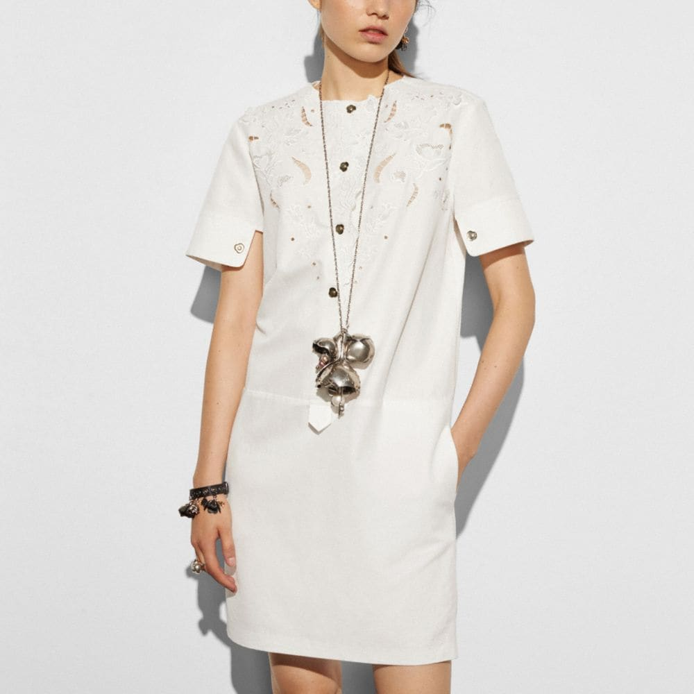 Eyelet Dress - Alternate View M