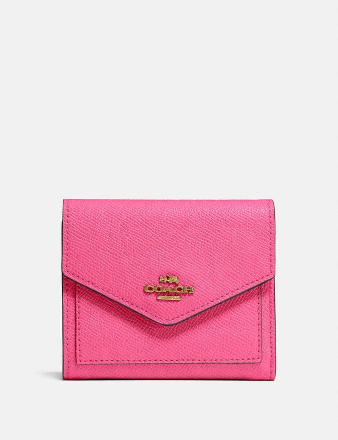 Coach Small Wallet B4/Confetti Pink