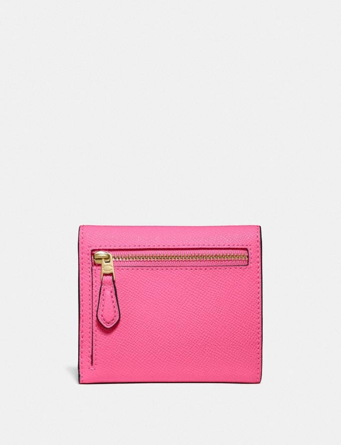 Coach Small Wallet B4/Confetti Pink New Women's New Arrivals Alternate View 1