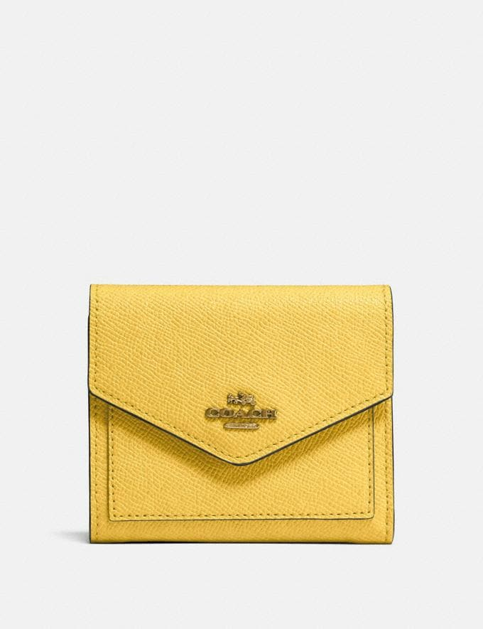 Coach Small Wallet B4/Sunlight