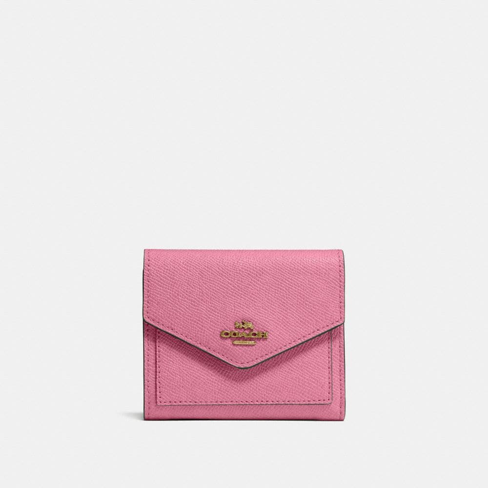 Coach Small Wallet Women S Rose Brass Modesens
