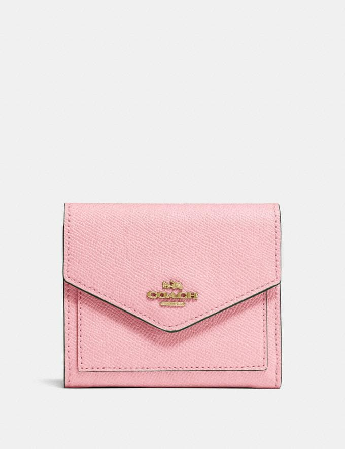 Coach Small Wallet Blossom/Gold SALE Women's Sale 50% off