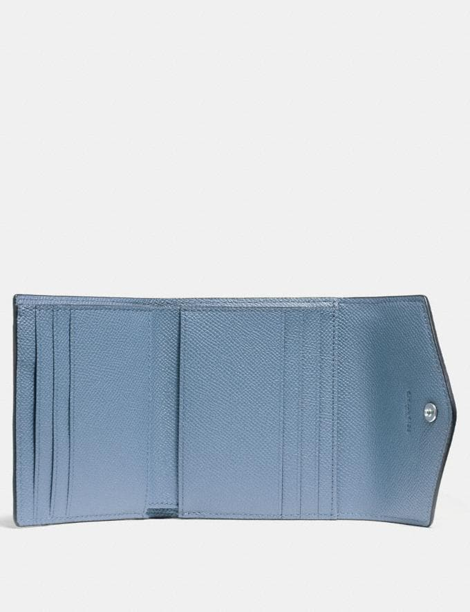 Coach Small Wallet Slate/Silver CYBER MONDAY SALE Women's Sale Wallets & Wristlets Alternate View 1
