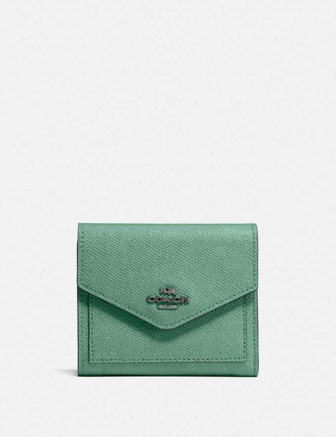 Coach Small Wallet V5/Washed Green SALE Sale Edits New to Sale New to Sale
