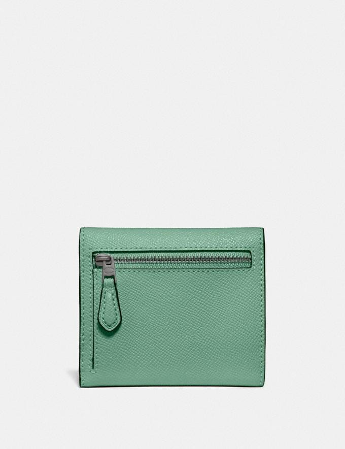 Coach Small Wallet V5/Washed Green SALE Sale Edits New to Sale New to Sale Alternate View 1
